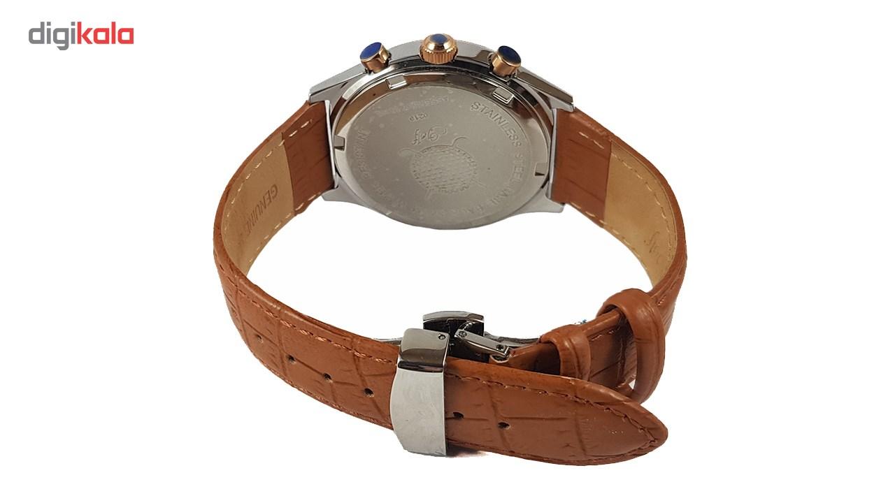 ساعت مچی عقربه ای  مردانه  گلف مدل 2-0219