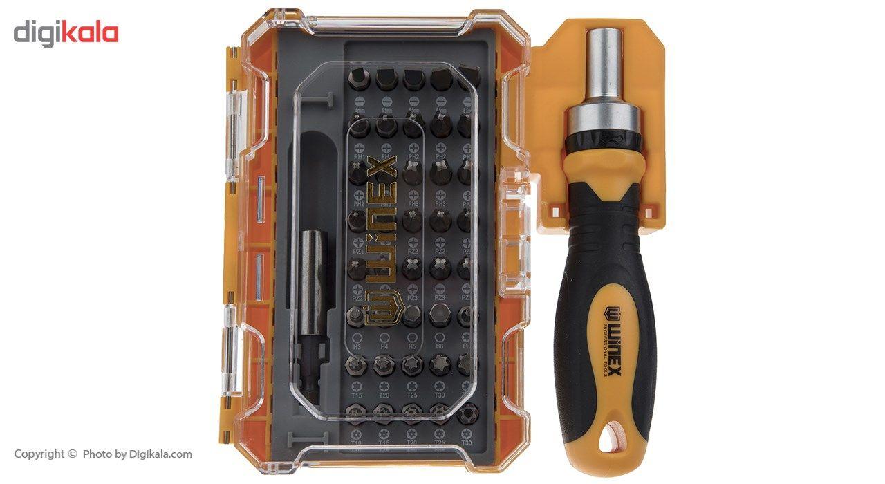 مجموعه 42 عددی پیچ گوشتی و سری پیچ گوشتی وینکس مدل EH2517 main 1 1