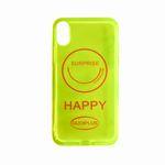کاور طرح HAPPY مدل HP0X مناسب برای گوشی موبایل اپل iPhone X/XS