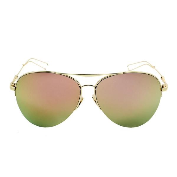 عینک آفتابی خلبانی ویلی بولو مدل Aviator Rose Gold Collection