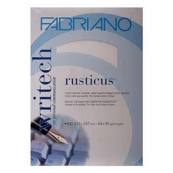 کاغذ فابریانو مدل  Rusticus Neve سایز A4 بسته 50 عددی