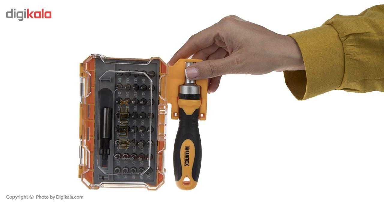 مجموعه 42 عددی پیچ گوشتی و سری پیچ گوشتی وینکس مدل EH2517 main 1 4