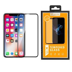 محافظ صفحه نمایش شیشه ای دیویا مدل Full Glue Tempered مناسب برای گوشی اپل آیفون X