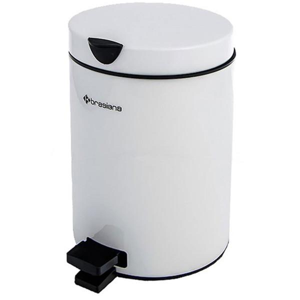 سطل زباله پدالی براسینا ظرفیت 3 لیتری کد 13030078