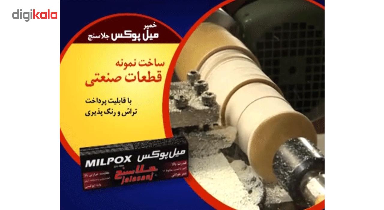 خمیر دوقلو هزار کاره میل پوکس جلاسنج 100 گرمی main 1 12
