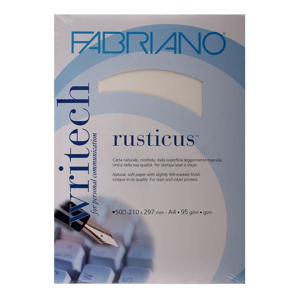 کاغذ فابریانو مدل  Rusticus Bianco سایز A4 بسته 50 عددی