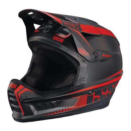 کلاه ایمنی دوچرخه آی ایکس اس مدل Xact Black Red-ML