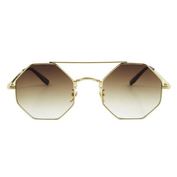 عینک آفتابی ویلی بولو مدل Hexagonal Brown Collection