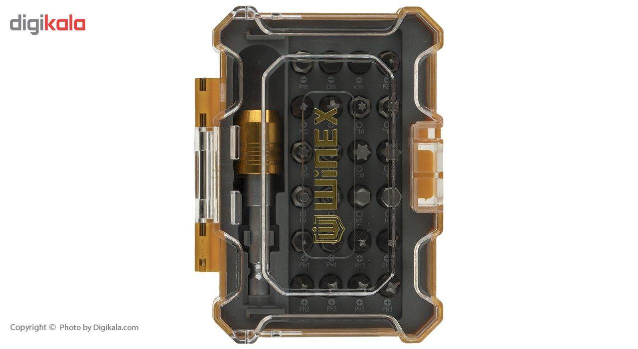 مجموعه 25 عددی پیچ گوشتی و سری پیچ گوشتی وینکس مدل EH2516 main 1 1