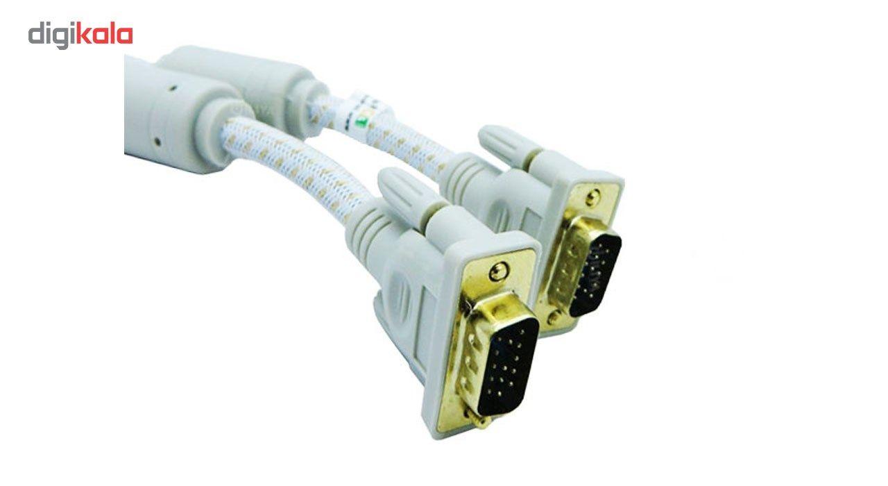 کابل VGA فرانت مدل P005 به طول 5 متر main 1 1