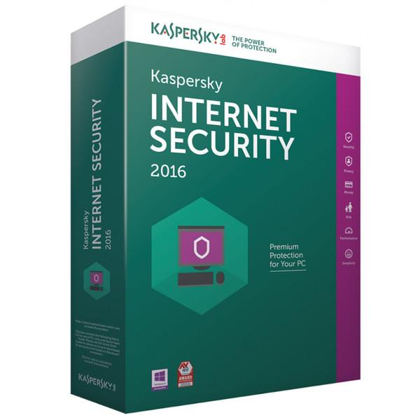 نرم افزار امنیتی کسپرسکی اینترنت سکیوریتی 2 کاربره 1 ساله
