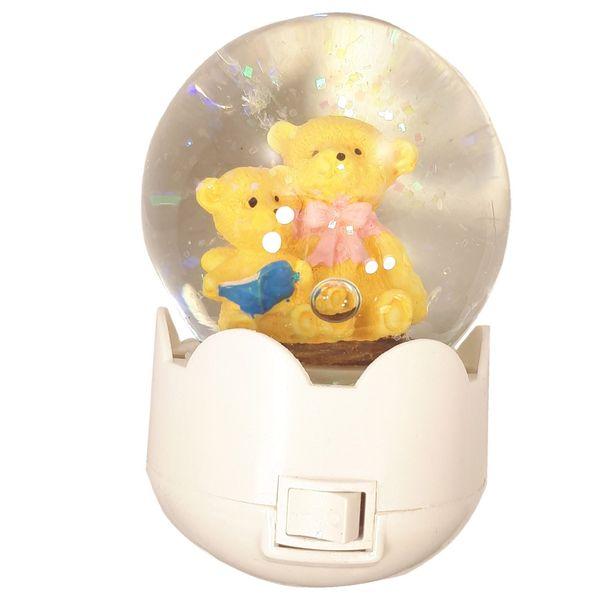 چراغ خواب کودک مدل گوی خرس خانواده