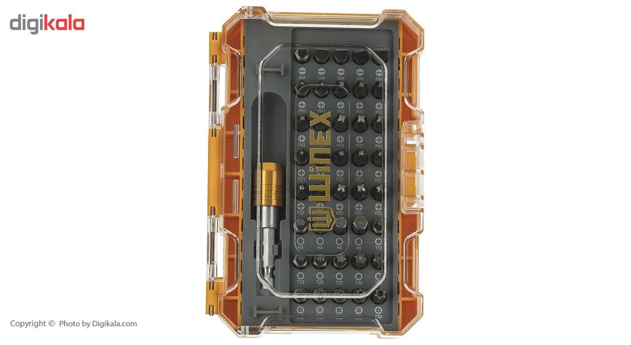 مجموعه 41 عددی پیچ گوشتی و سری پیچ گوشتی وینکس مدل EH2515 main 1 1