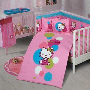 سرویس 8 تکه لحاف کودک مدل Baby Hello Kitty