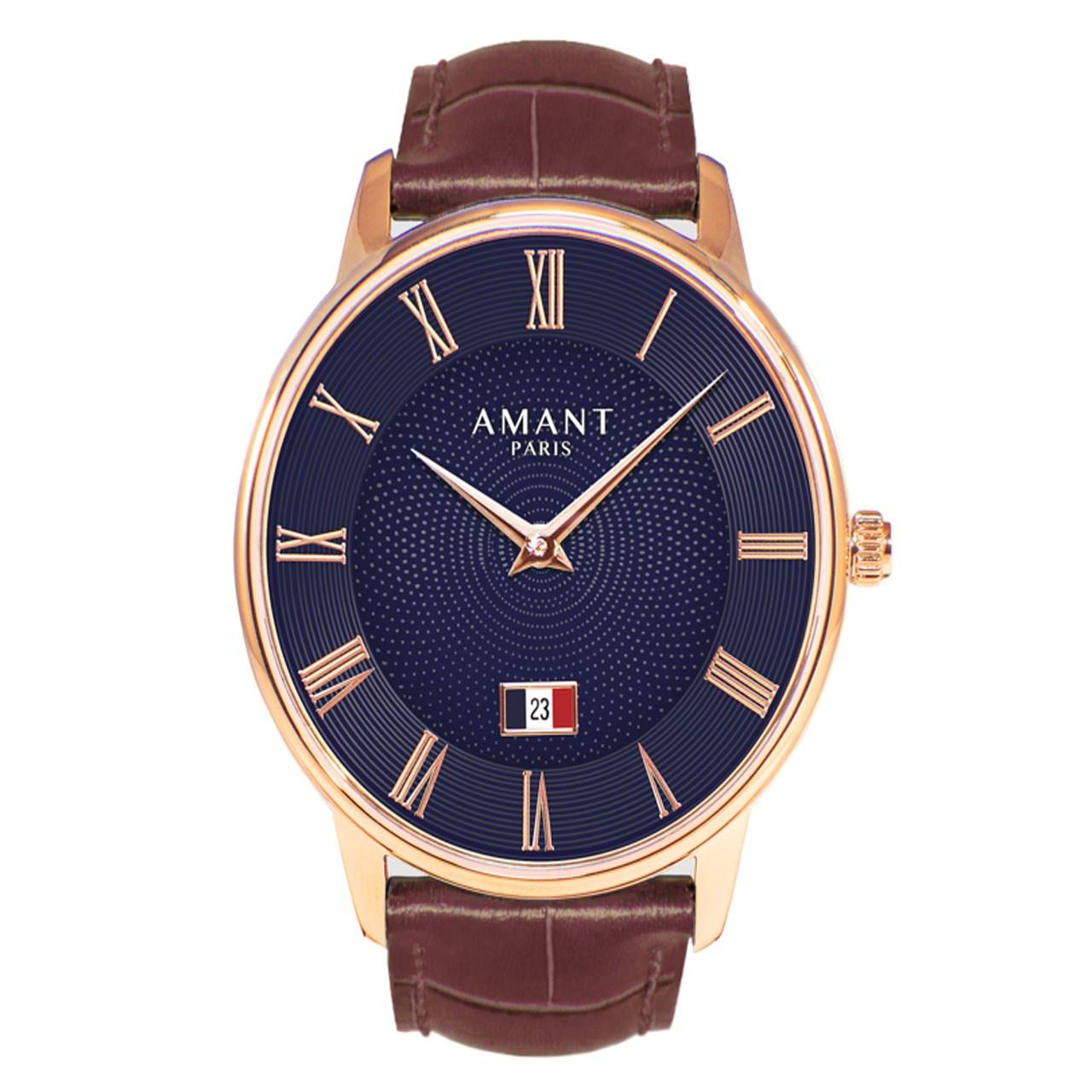 ساعت مچی عقربه ای مدل Amant Paris Siena