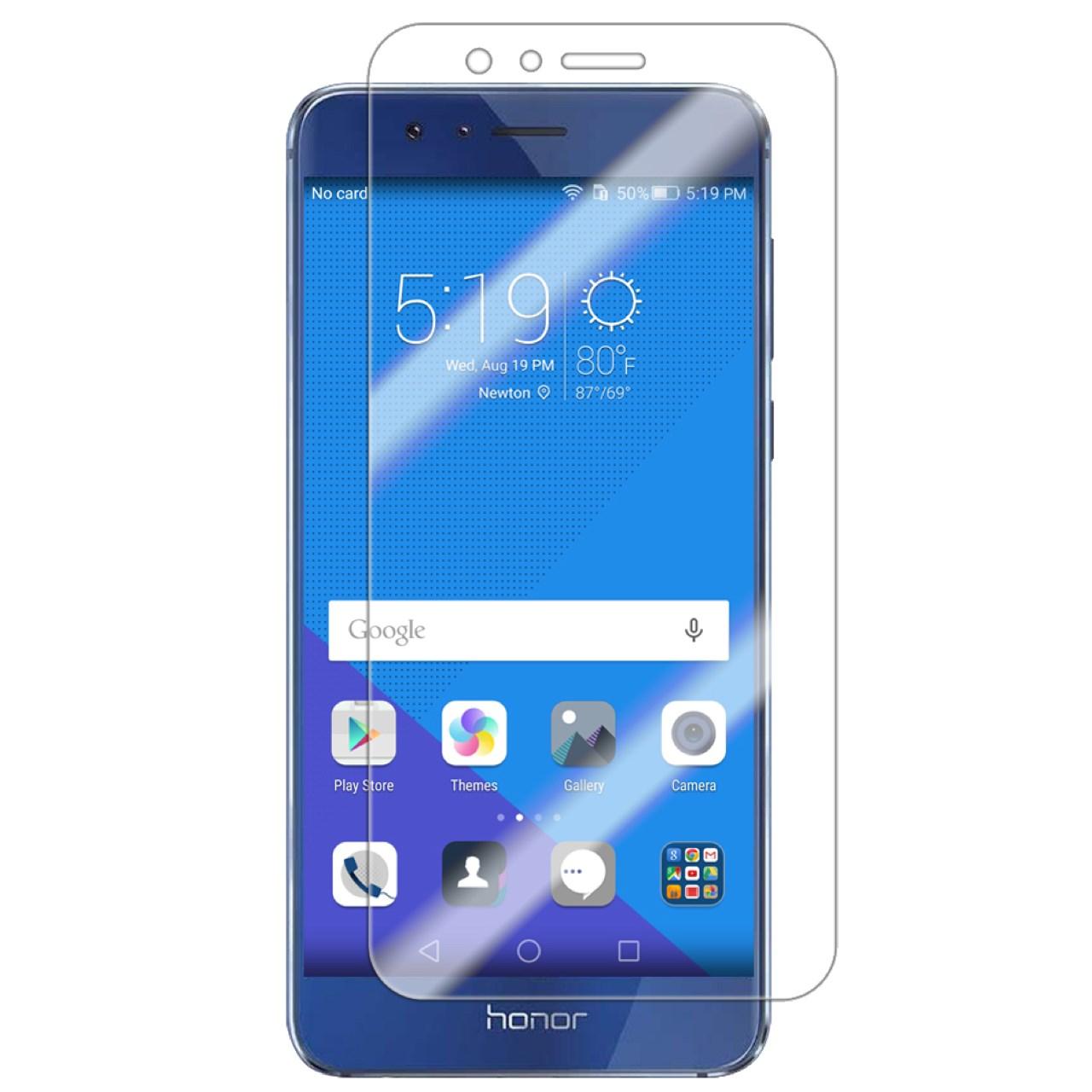 محافظ صفحه نمایش شیشه ای 9H  یونیفا مدل permium تمپرد مناسب برای Huawei Honor 8
