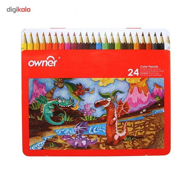 مداد رنگی 24 رنگ اونر main 1 1