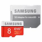 کارت حافظه microSDHC  مدل Evo Plus کلاس 10 استاندارد UHS-I U1 سرعت 80MBps همراه با آداپتور SD ظرفیت 8 گیگابایت thumb