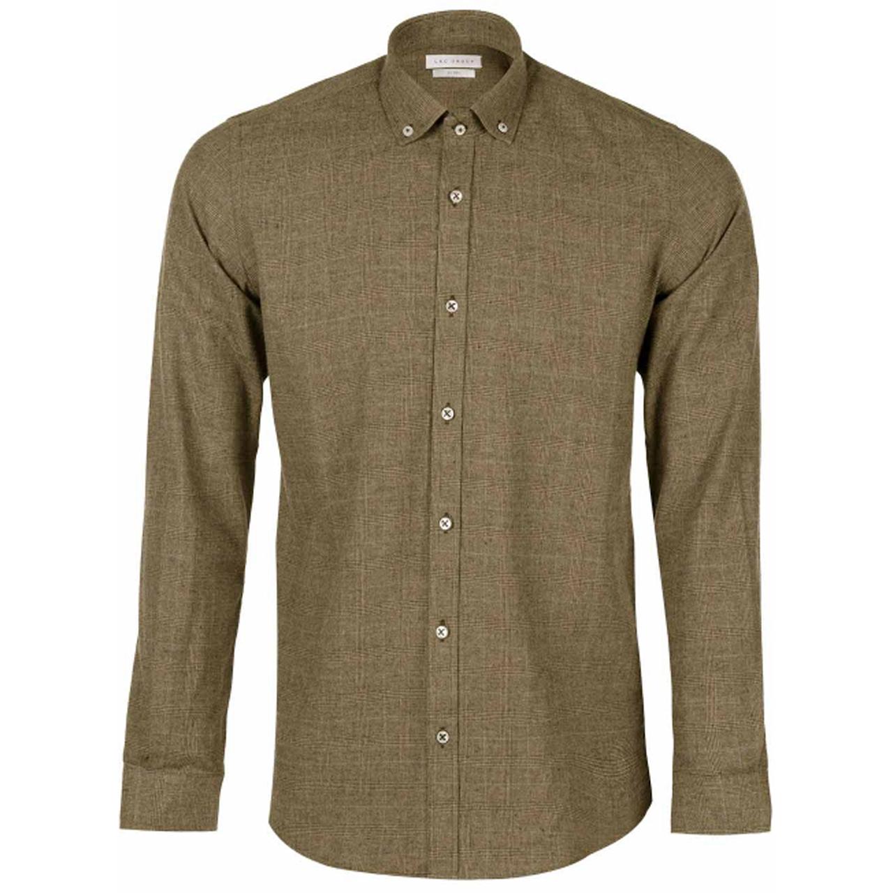 پیراهن آستین بلند مردانه ال آر سی مدل TK90377