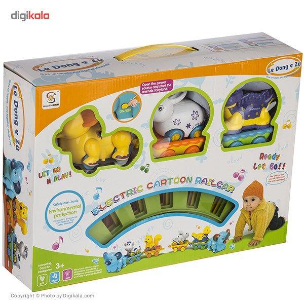 قطار اسباب بازی شنگ چوان مدل Animals Forest