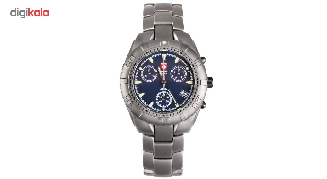 خرید ساعت مچی عقربه ای مردانه سوئیس آرمی مدل 1275CT