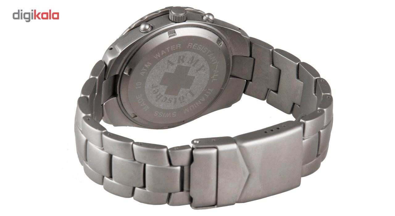 ساعت مچی عقربه ای مردانه سوئیس آرمی مدل 1275CT