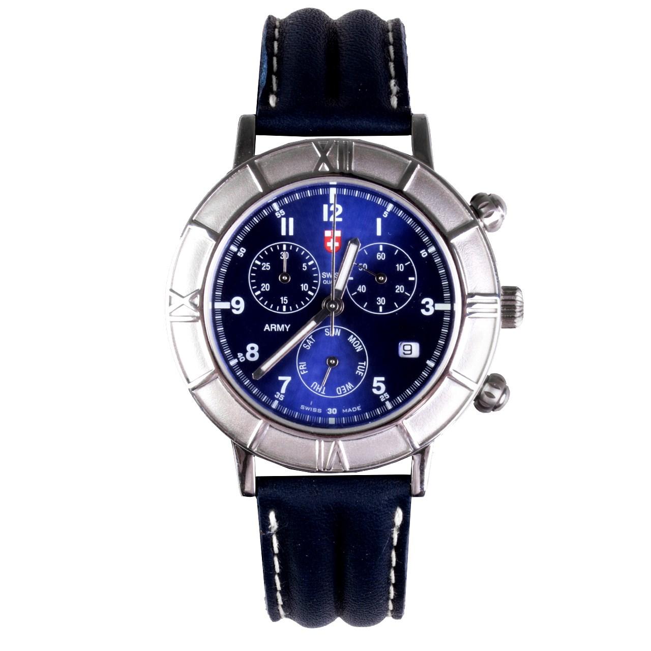ساعت مچی عقربه ای مردانه سوئیس آرمی مدل 3004CL 55