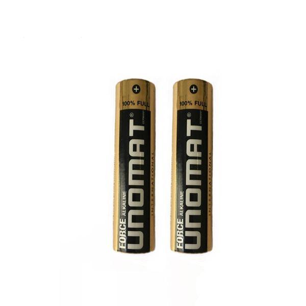 باتری قلمی یونومت مدل Force Alkaline بسته 2 عددی