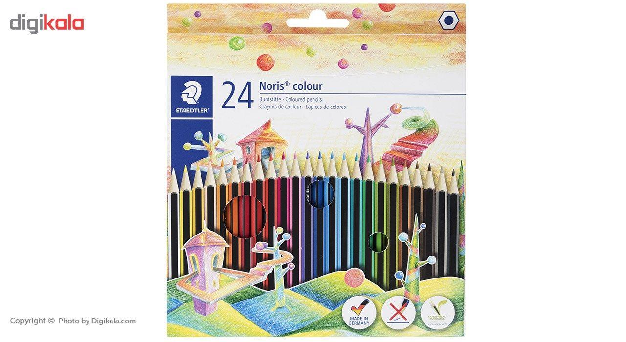 مداد رنگی 24رنگ استدلر مدل Noris Colour 185 C24 main 1 1