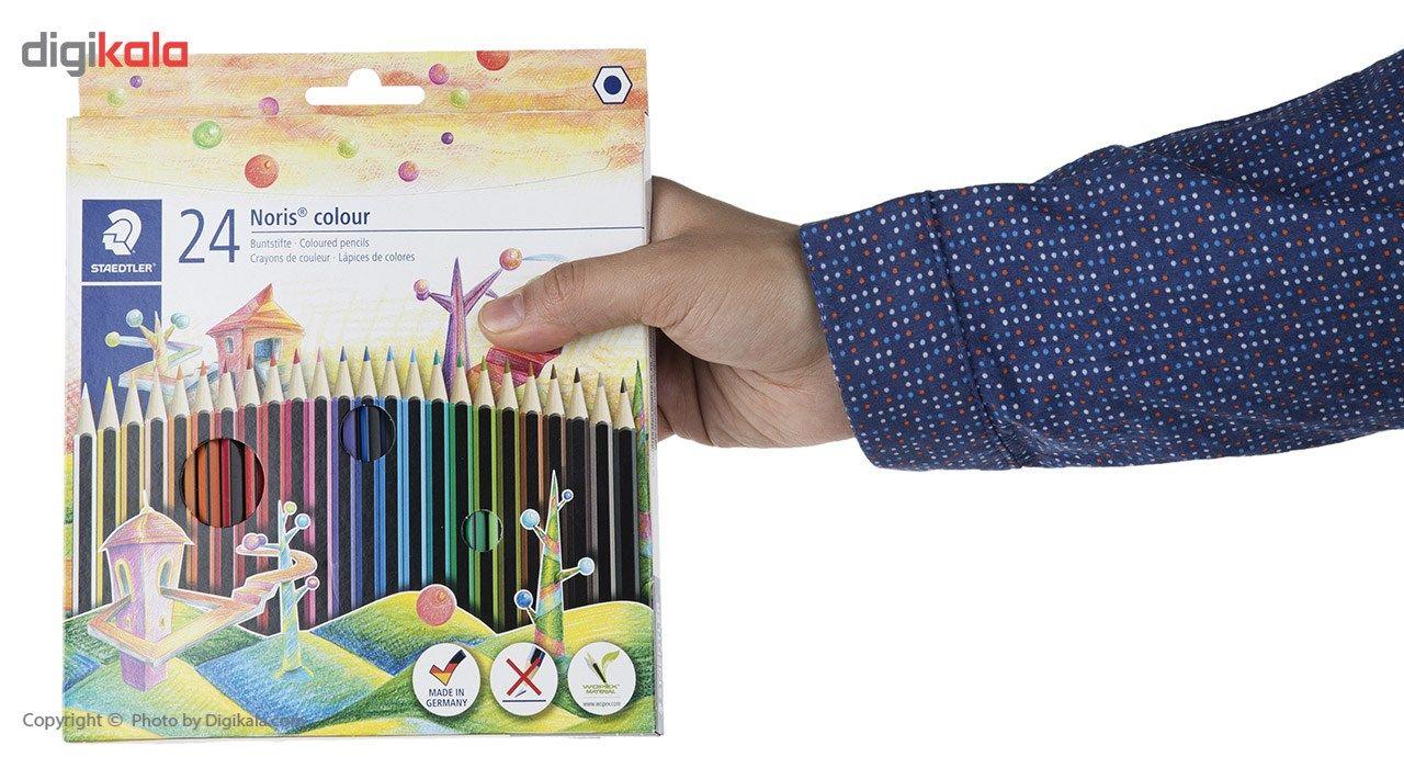 مداد رنگی 24رنگ استدلر مدل Noris Colour 185 C24 main 1 2