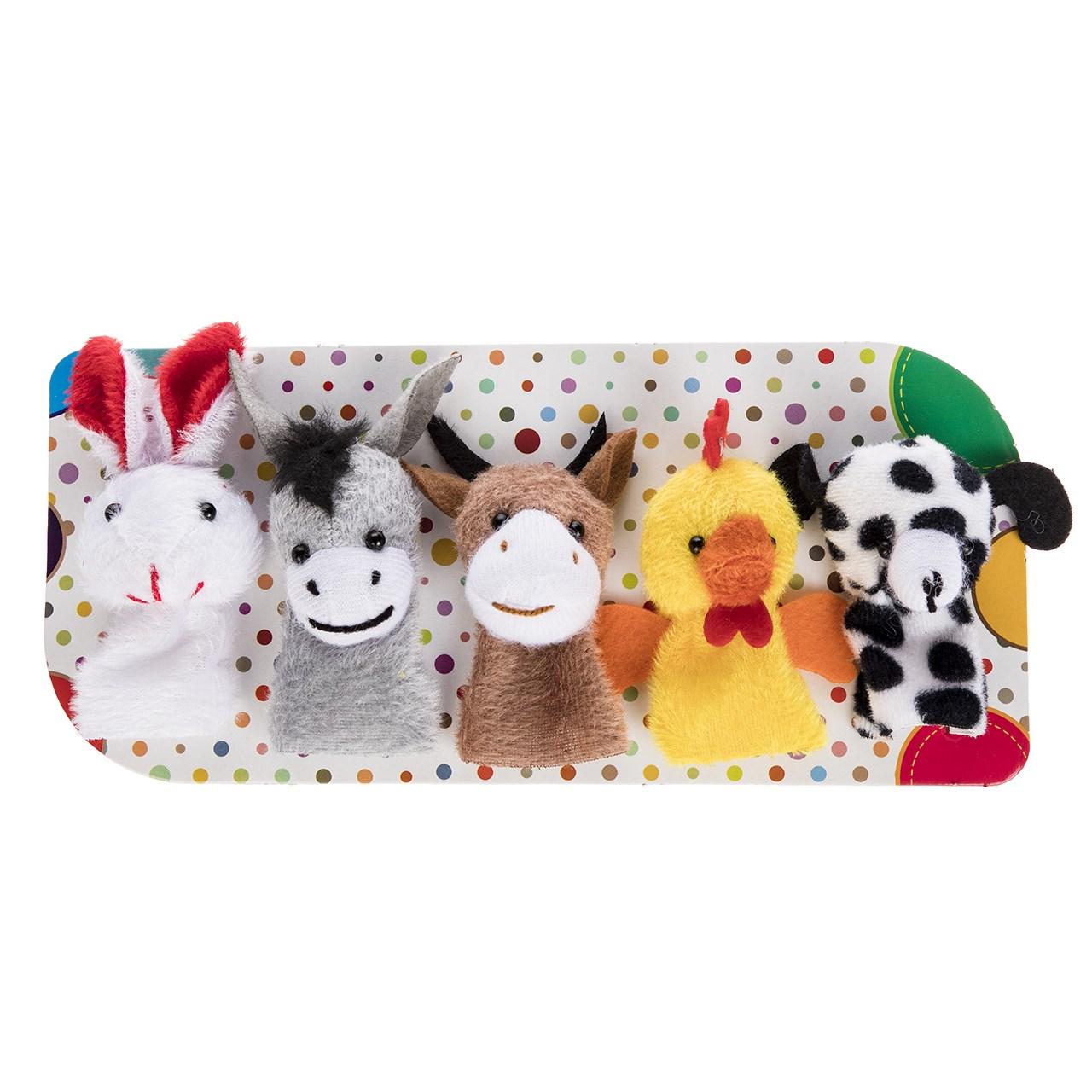 خرید                     عروسک انگشتی پرشین صبا مدل Animals بسته 5 عددی