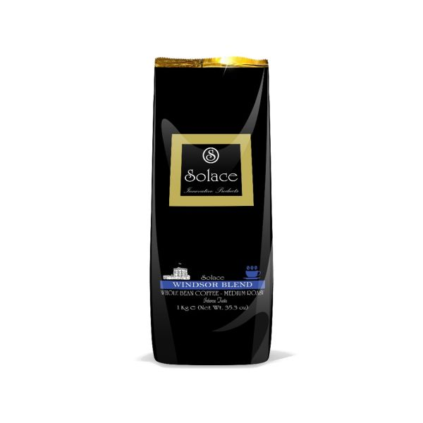 قهوه  سولیس مدل WINDSOR WHOLE BEAN COFFEE MEDIUM ROAST بسته 1000 گرمی