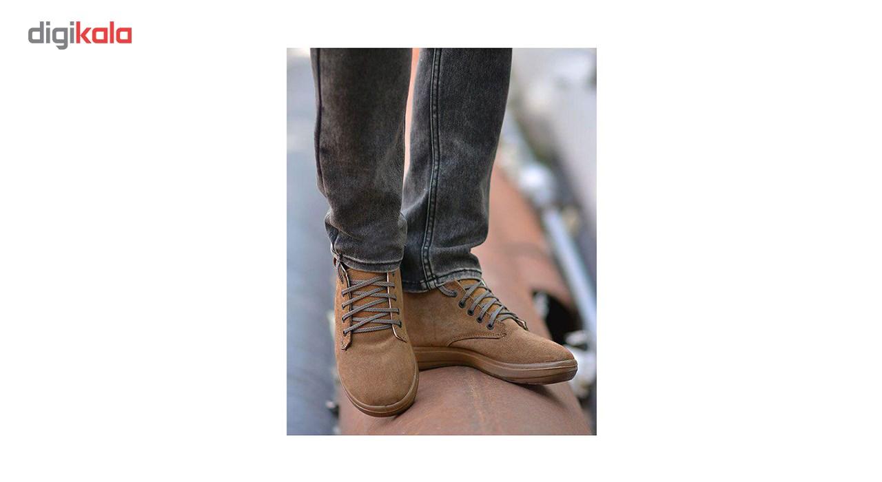 کفش چرم مردانه مدل M13sh