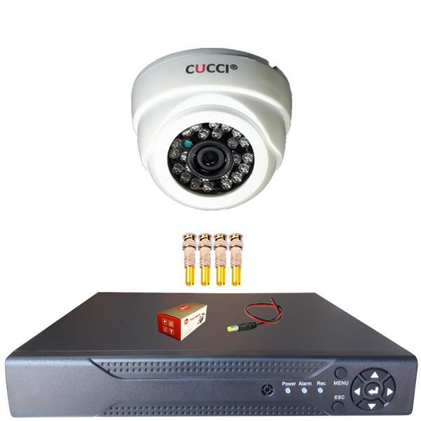 سیستم امنیتی تک دوربین کوچی مدل PAK 6