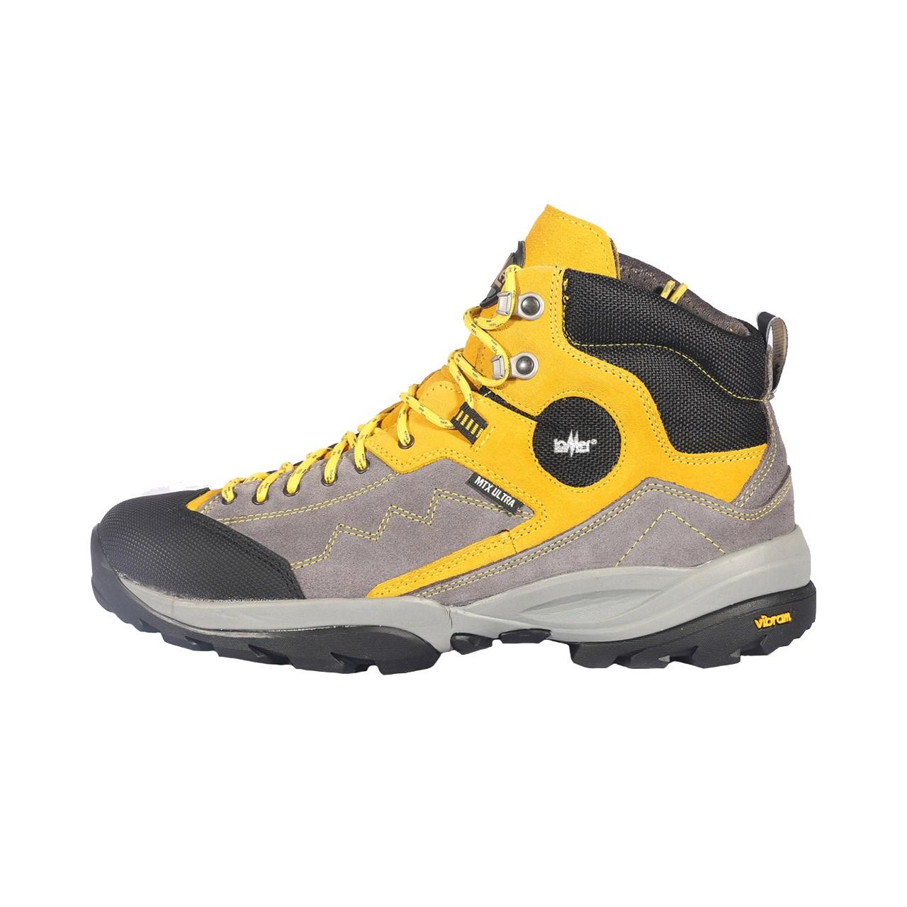 کفش کوهنوردی مردانه لومر مدل patagonia mtx ultra brain/yellow
