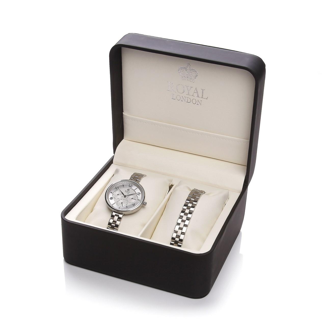 ساعت مچی عقربه ای زنانه رویال لندن مدل RL-21333-04