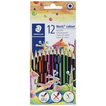 مداد رنگی 12رنگ استدلر مدل Noris Colour 185 C12