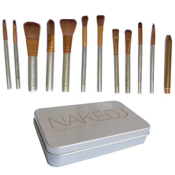 ست برس آرایشی مدل NAKED3 مجموعه 12 عددی