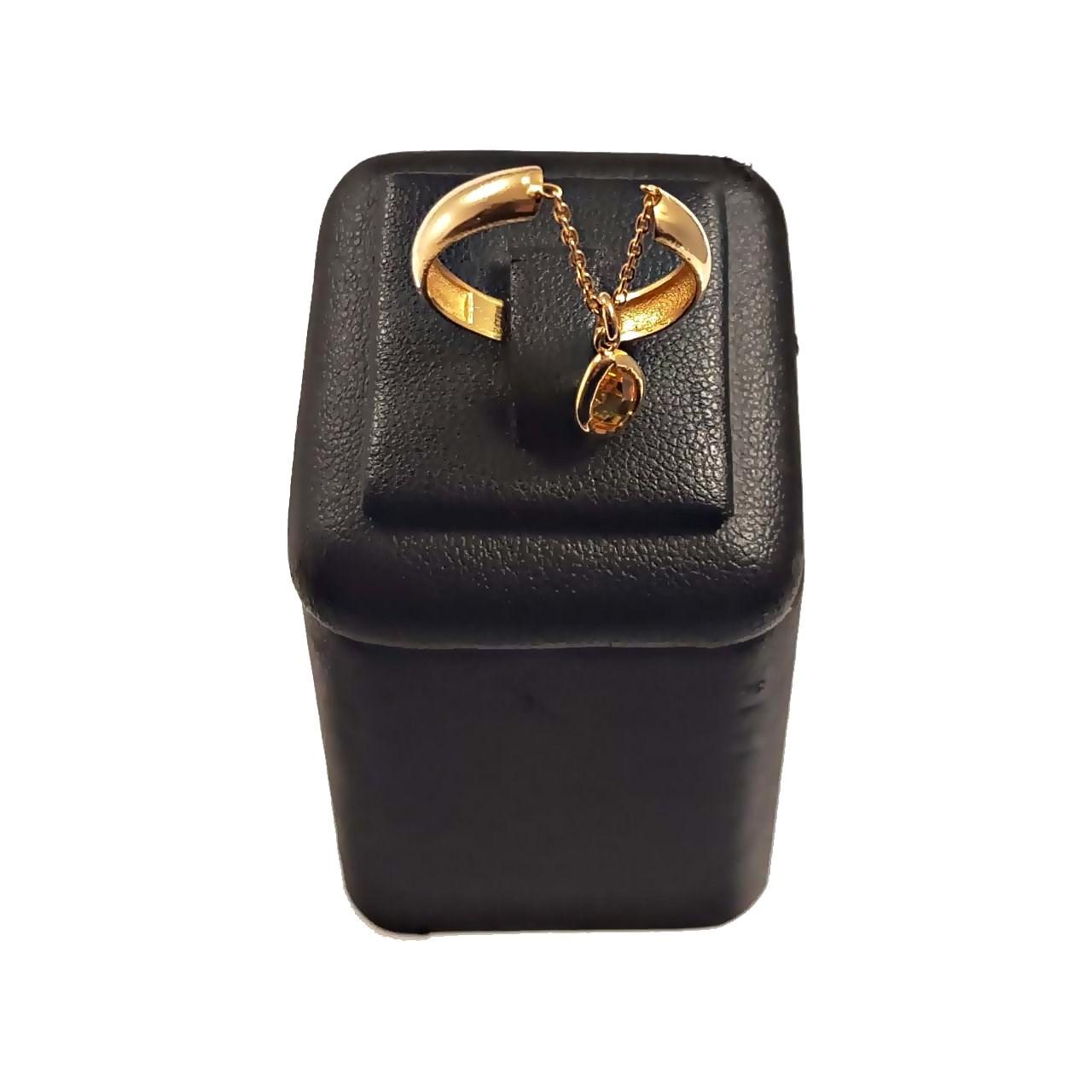 انگشتر طلا 18 عیار گالری آمانژ طرح مارکو مدل D214