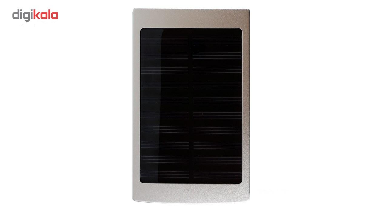 شارژر همراه خورشیدی سولار شارژر مدل SH با ظرفیت 10000 میلی آمپر ساعت