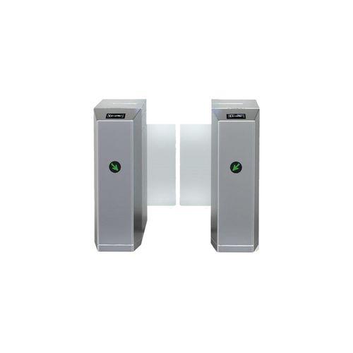 گیت کنترل تردد شیشه ای ماداکتو مدلMD-G702 دو عدد گیت کناری