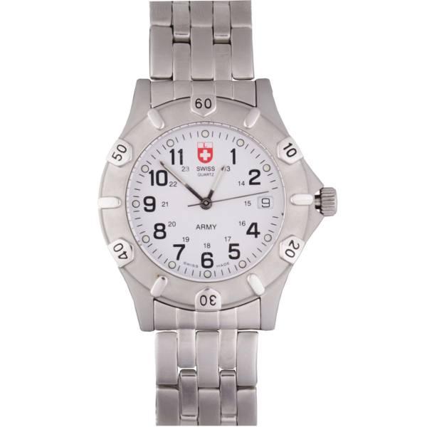 ساعت مچی عقربه ای مردانه سوئیس آرمی مدل 1271GMW