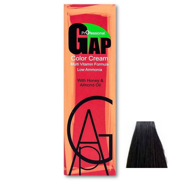 رنگ مو گپ سری خاکستری مدل قهوه ای خاکستری روشن شماره 5.1