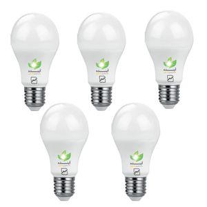 لامپ ال ای دی حبابی 9  وات آینده بسته 5 عددی پایه E27