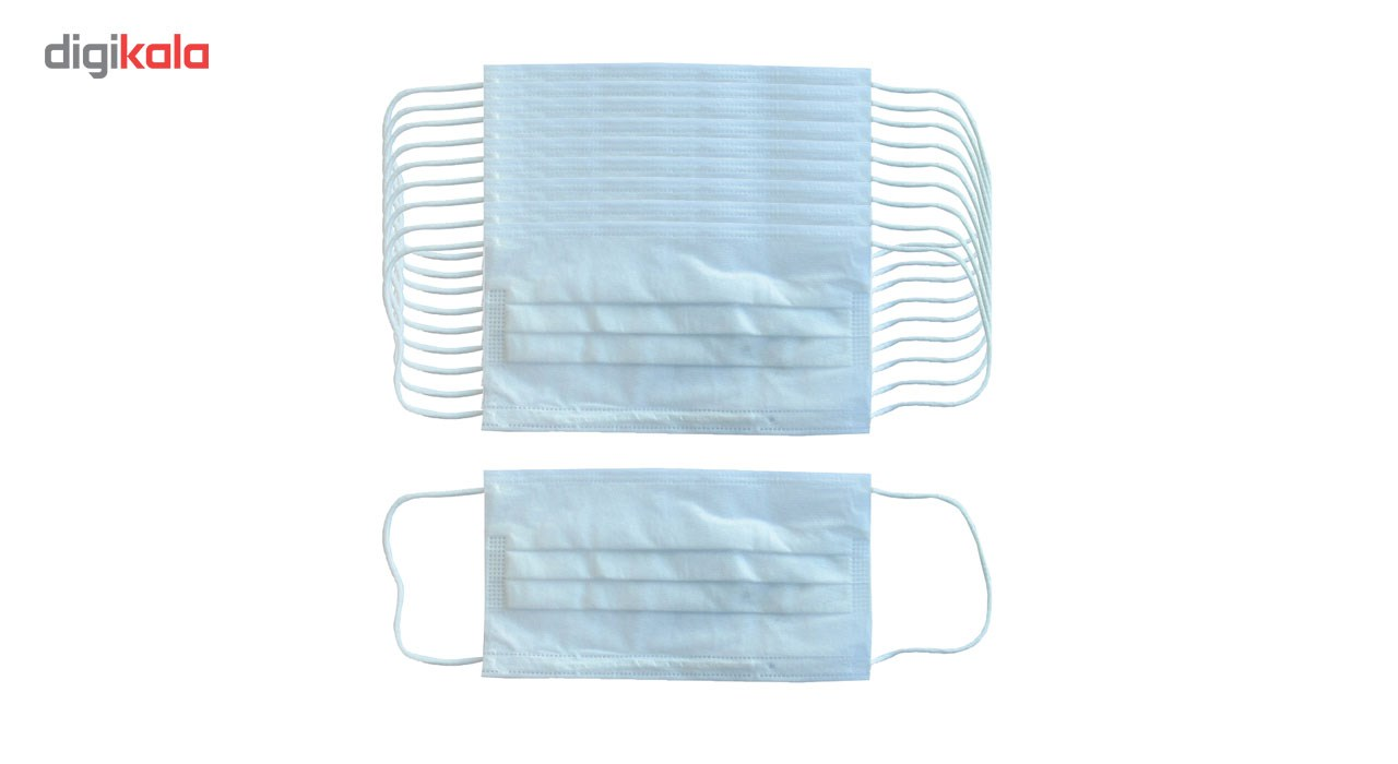 10 pcs Disposable protective breathable face Mask 3 Ply Non woven safe Anti-dust and viruses filter, model nano