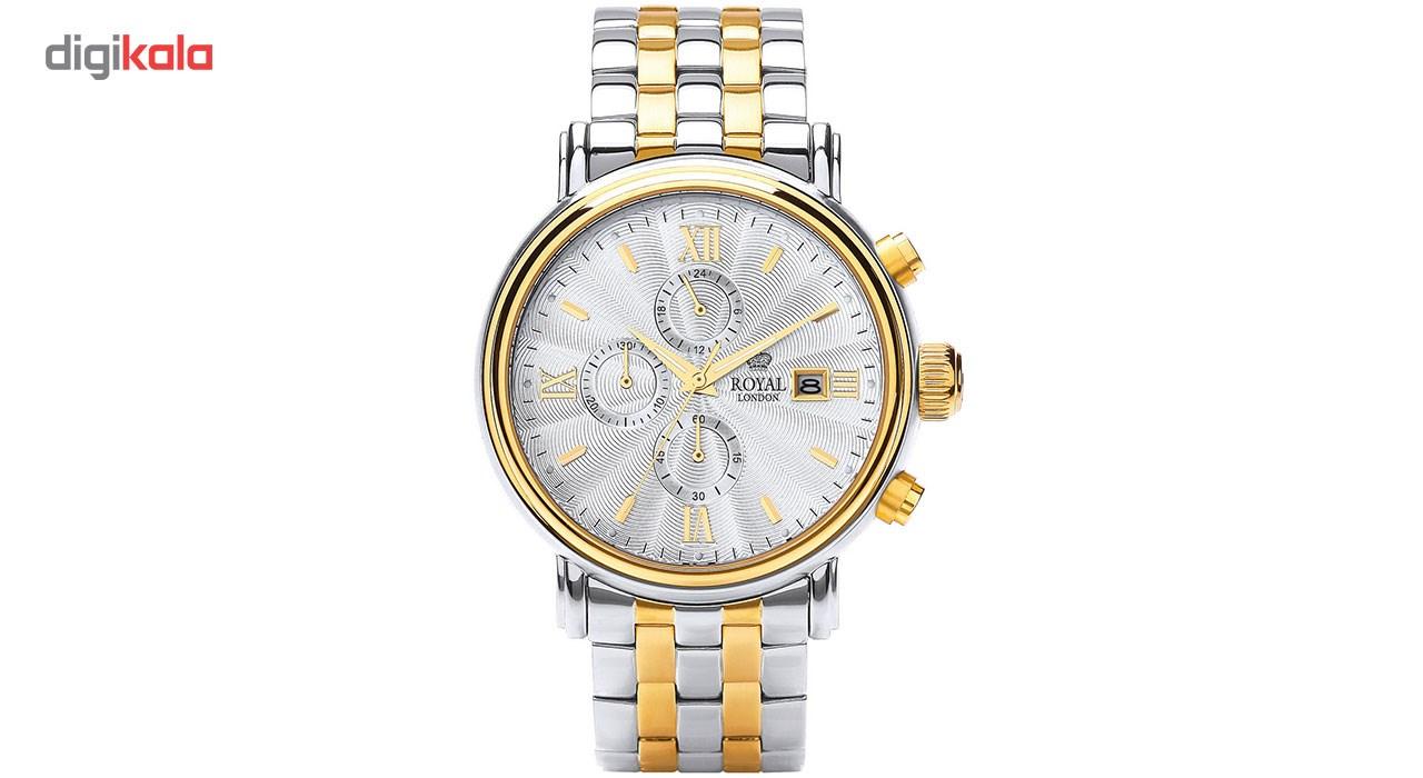 خرید ساعت مچی عقربه ای مردانه رویال لندن مدل RL-41205-07