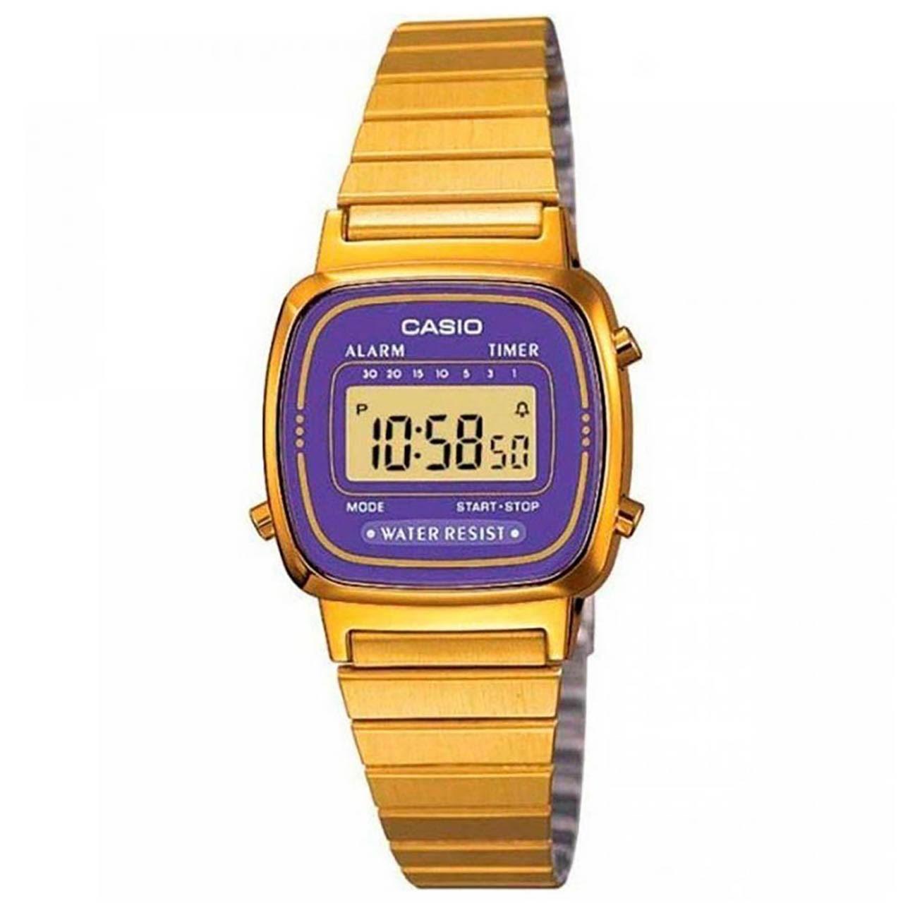 ساعت مچی دیجیتالی  کاسیو مدل LA670WGA-6DF