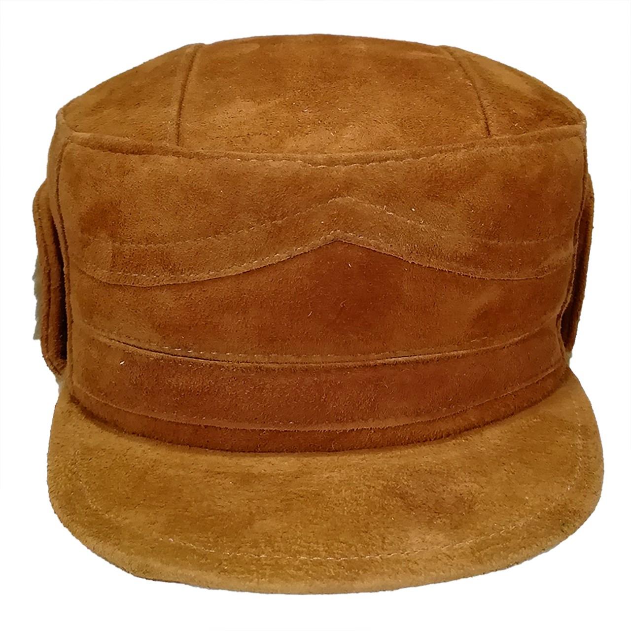 کلاه پوست و چرم کمالی سایز L مدل AK-00002
