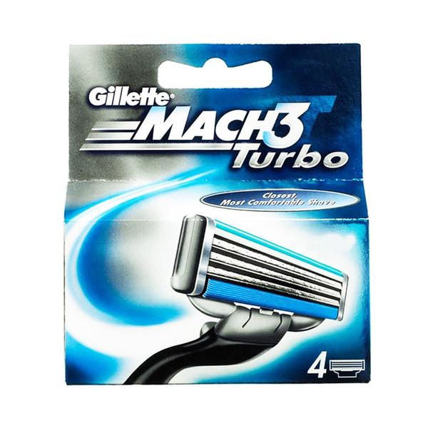 تیغ یدک 4 عددی ژیلت مدل Mach 3 Turbo