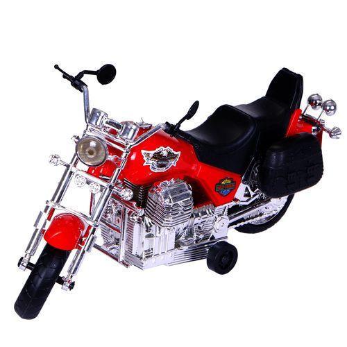 اسباب بازی موتورسیکلت مدل هارلی دیویدسون harley davidson به همراه یک عدد عروسک سرباز